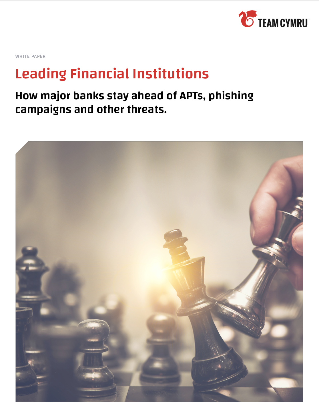 How major banks stay ahead of APTs, phishing campaigns and other threats.